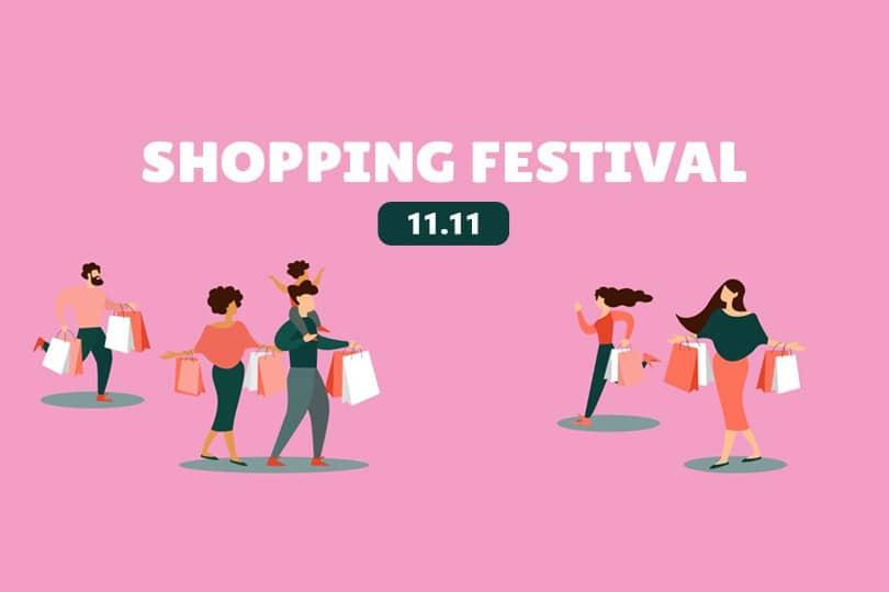 singles day 11.11 shopping festival